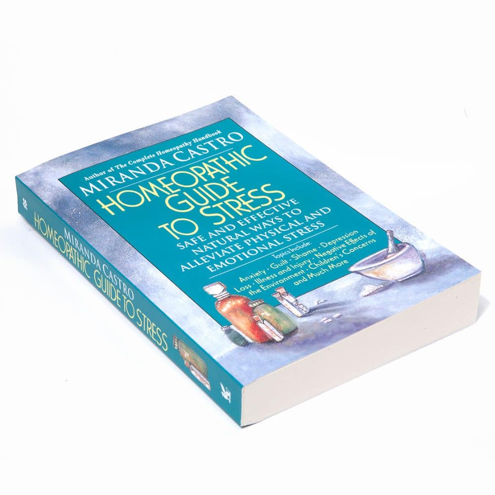 Book: A Homeopathic Guide to Stress by Miranda Castro